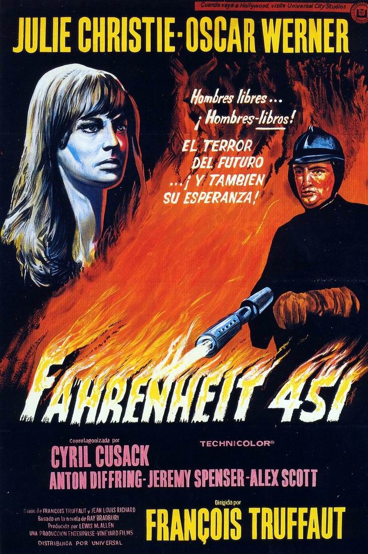 Fahrenheit 451 starring Julie Christie and Oskar Werner # ...