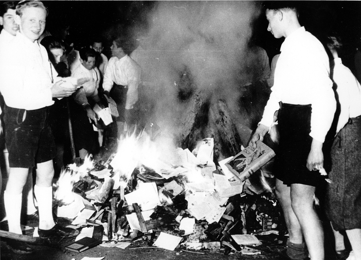 The History Notes: The Time of Book Burning - Nazi's ...